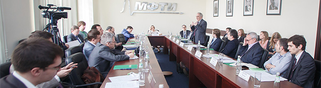 Meeting of deputy Minister of Education and Science of the Russian Federation Ludmila Ogorodova on the topic of neurotechnologies development. PhystechBio Conference, April 2015